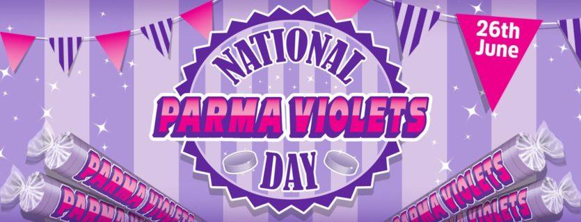 Purple Parma Violet sweets